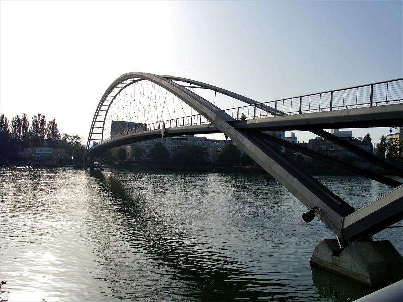 Dreiländerbrücke sul Reno