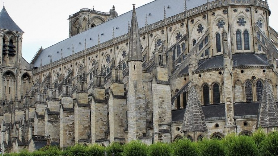 Bourges cattedrale di saint etienne