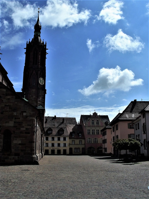 piazza della cattedrale di Villingen