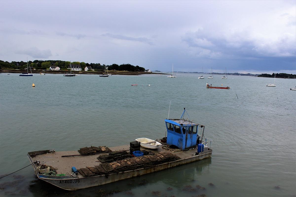 Golfo-del-Morbihan - Morbihan-golfo-con-pioggia.jpg